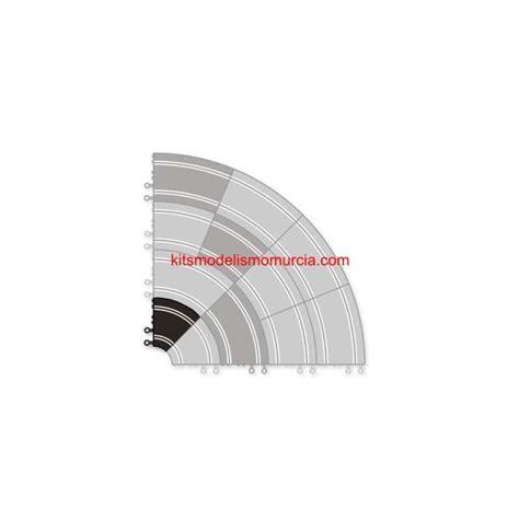 curva interior scalextric curva interior scalextric original 2 unidades consultar