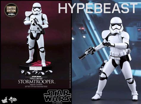 Ht Wars Stormtrooper Order Squad Leader Toys R Us Exclusive wars the awakens order stormtrooper toys preview the toyark news
