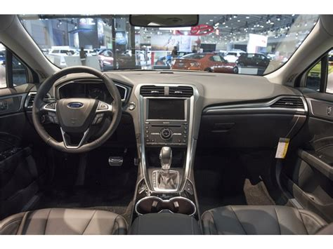 Ford Fusion 2016 Interior by 2016 Ford Fusion Energi Performance U S News World Report
