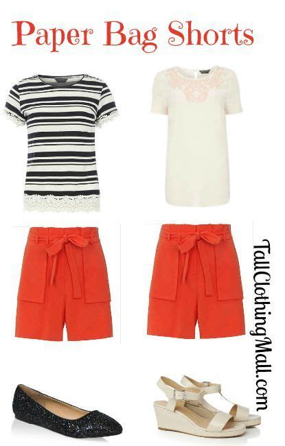 How To Make Paper Look And Worn - paper bag shorts worn 2 ways clothing mall