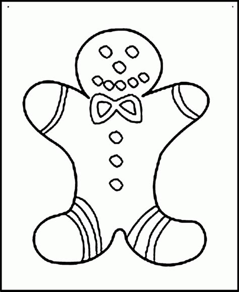 cute gingerbread man coloring page gingerbread man coloring page kids coloring
