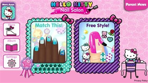 kitty nail salon android gameplay video dailymotion