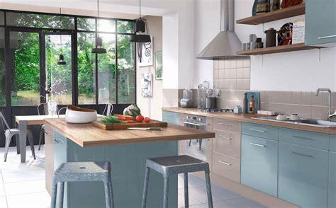 cuisine bleu ciel inspirations d 233 co pour une cuisine bleue joli place