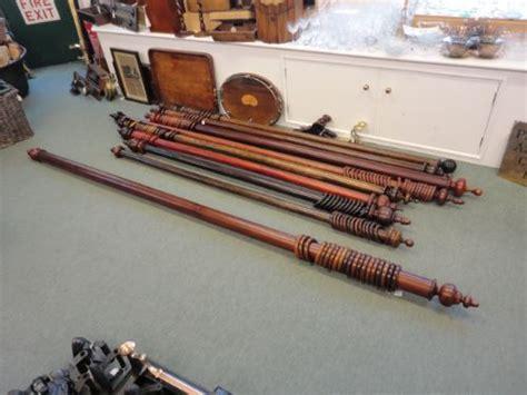 mahogany curtain pole quality mahogany victorian curtain pole 344340