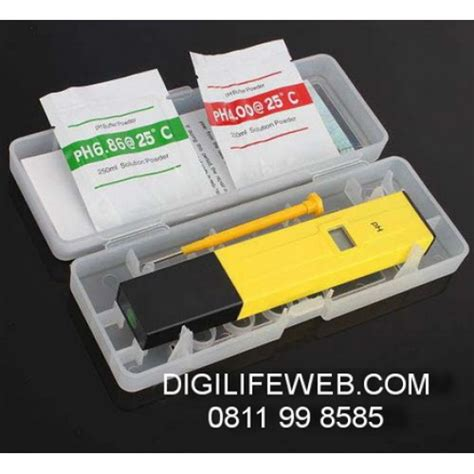 Alat Pengukur Ph Air Untuk Aquarium ph meter standard alat ukur asam basa air