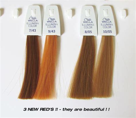 illumina color wella illumina new reds gingerheads