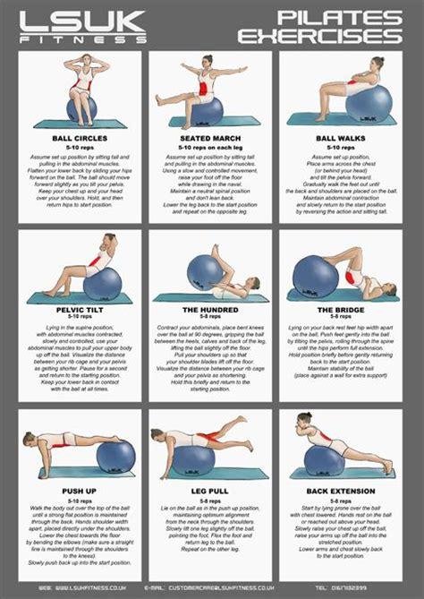 pilates exercises for beginners diagrams les 25 meilleures id 233 es de la cat 233 gorie exercices avec