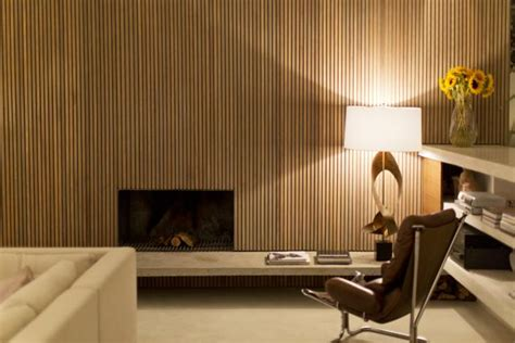 how to make wood paneling look modern here s one alternative to boring drywall wood wall