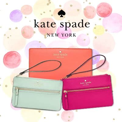 qoo10 ready stock in sg kate spade wallet wristlets