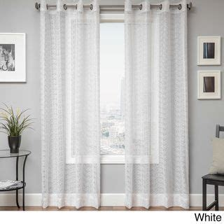 overstock sheer curtains sheer curtains curtain panels and great deals on pinterest