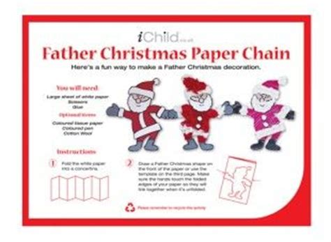 snowman paper chain template the world s catalog of ideas