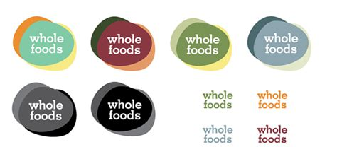 food color combinations whole foods market rebrand on artcenter gallery