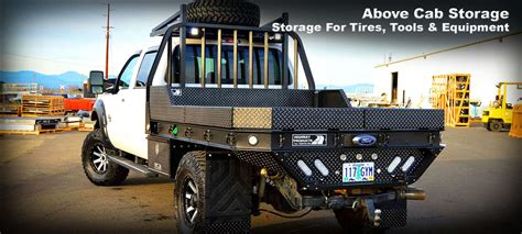 custom truck tool boxes for flatbeds custom pickup truck flatbeds highway products inc