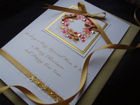 Handmade Luxury Cards - handmade card wreath handmade cards pink posh