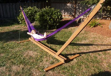 diy hammock chair stand hammock stand diy and steps to follow interior design ideas