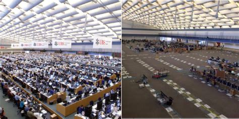 Wall Trading Floor by A Photo Of The Ubs Trading Floor In Connecticut Says It