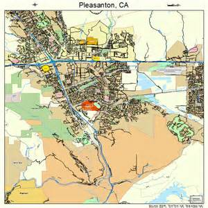 pleasanton california map 0657792