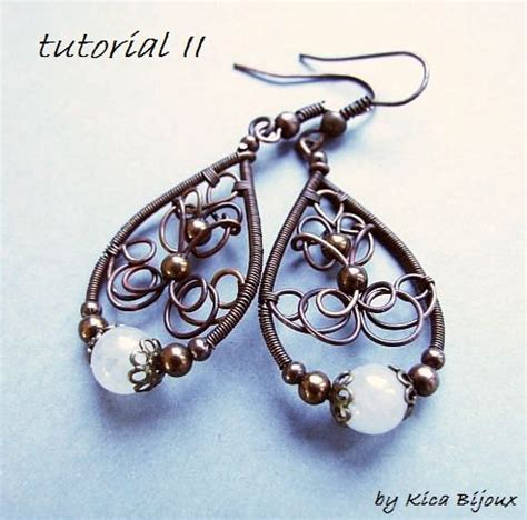 jewelry lessons tutorial ii jewelry tutorials wire wrapped earrings