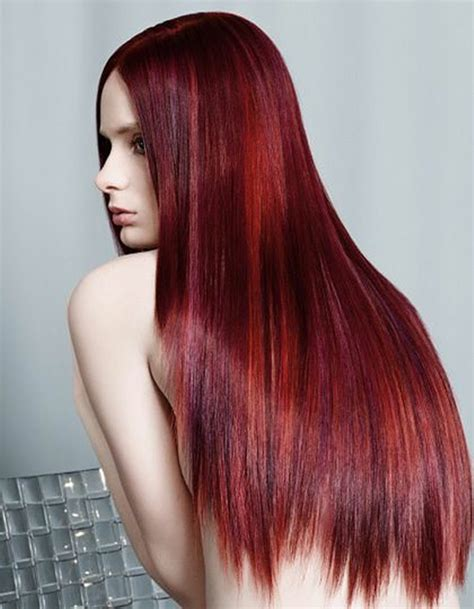hairstyle ideas for redheads 49 of the most striking dark red hair color ideas