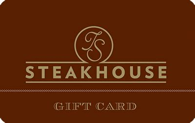 Turning Stone Gift Card - ts steakhouse gift card