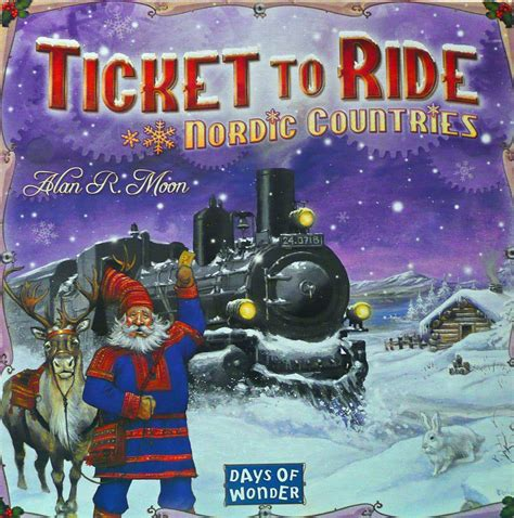 Ticket To Ride Map Collection Volume 2 India Switzerland buy ticket to ride nordic countries boardgamebliss inc canada s board store