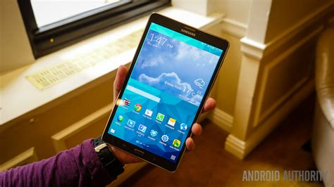 Samsung Tab S 8 4 samsung galaxy tab s 8 4 on and look android