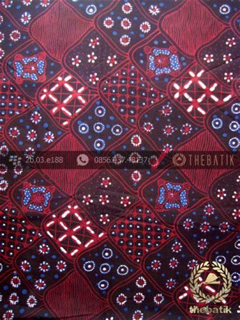 Kain Batik Motif Asmad Bahan Katun kain batik tulis jogja motif sekar jagad latar hitam batik fabric design pattern