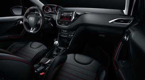 peugeot 2008 interior peugeot 2008 gt line ambiance rouge et noir