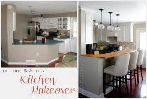 before and after kitchen makeover burger