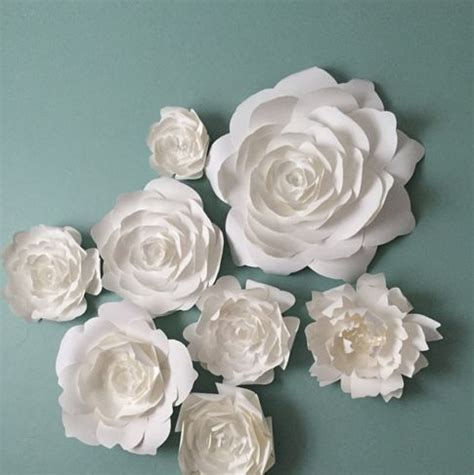 1000 ideas about flower wall decor on paper