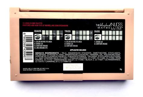 Maybelline The Blushed Palette maybelline the blushed palette review swatches makeup