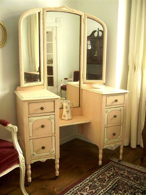 vintage bedroom vanities hand painted distressed shabby chic vintage vanities by my