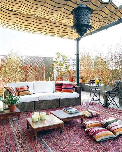 terrace ideas 26 adorable boho chic terrace designs digsdigs