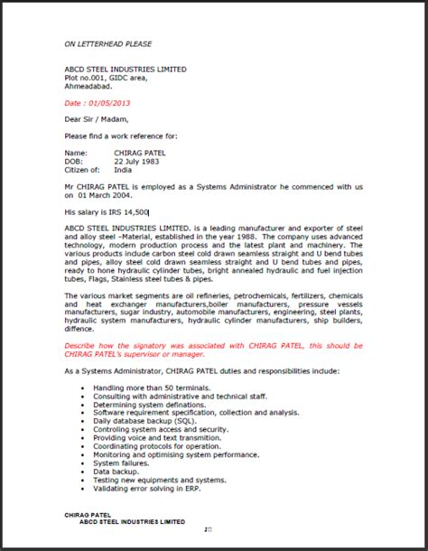 Experience Letter Usa fresh and free resume sles for experience