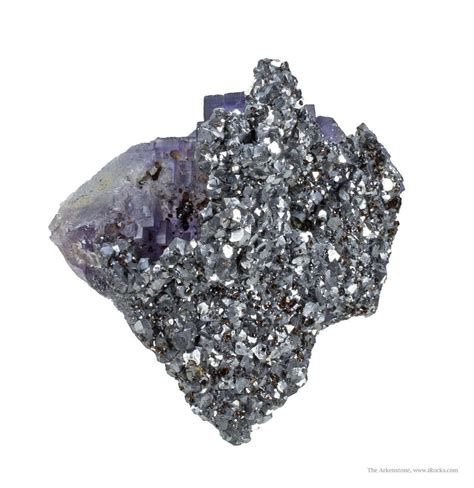 galena casts after fluorite on fluorite rlil15 066 from