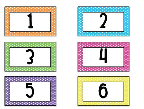 printable number labels 7 best images of printable number labels free printable