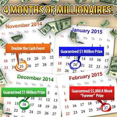 Pch 4 Million Dollar Sweepstakes - publishers clearing house 4 months of millionaires event