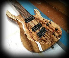 tutorial gitar royals highly figured spalt maple on sw ash warmoth custom
