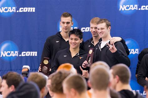 Free Open Records Conger Haas Lead Longhorns To Us Open Record In 800 Free Relay