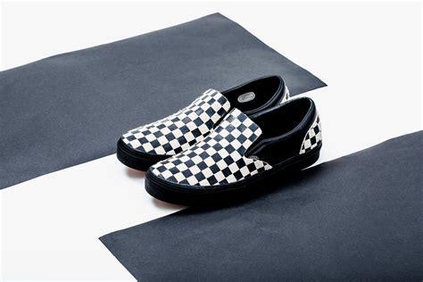 n hoolywood x vans team up on the checkerboard slip ons