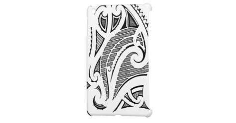 mauri tattoo design tribal mauri moko design mini cases zazzle