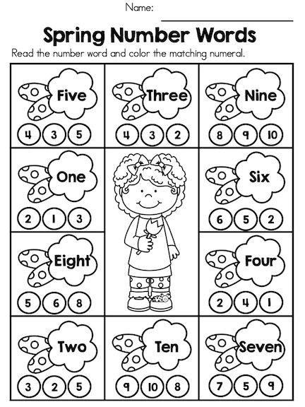 25 best ideas about number words on math
