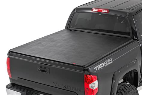 toyota tundra bed cover soft tri fold bed cover for 2014 2017 toyota tundra