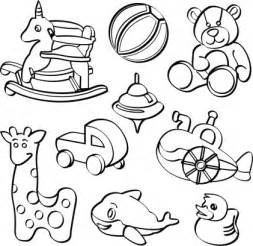 Playground Toys Clip Art Black And White Sketch Coloring Page sketch template