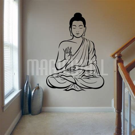 buddha wall sticker wall decals buddha wall stickers