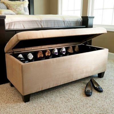 foot of bed storage shoe storage bench beauty end of and ottomans