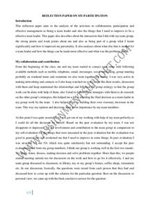 Reflective Essay Format Exle by Reflective Essay Essay Sle From Assignmentsupport Essay Writin