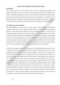 Exle Of Reflective Essays by Reflective Essay Essay Sle From Assignmentsupport Essay Writin