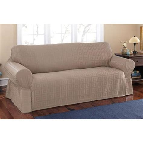 walmart sofa slipcovers mainstays sherwood slipcover sofa walmart