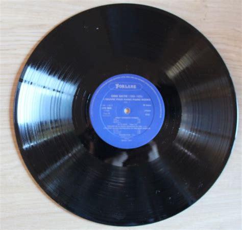 Erik Satie Piano Works Vinyl - erik satie clidat piano works vol i forlane